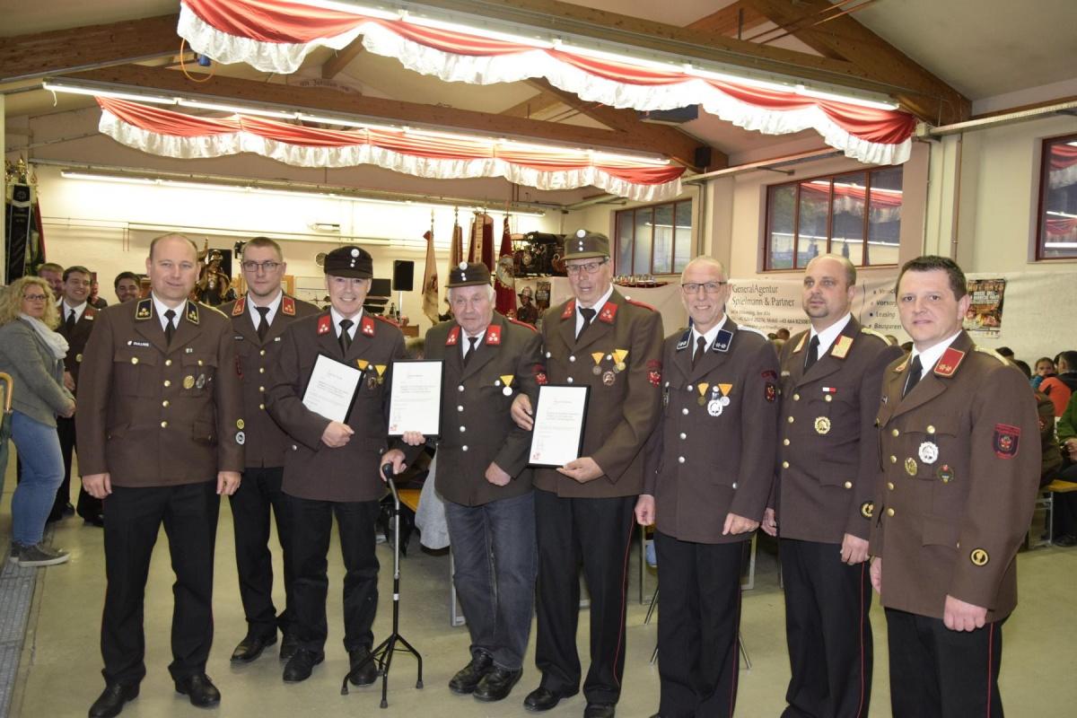 50 Jahre Feuerwehr Mieming