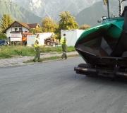 Verkehrsregelung wegen Asphaltierung der B 189 in Obermieming