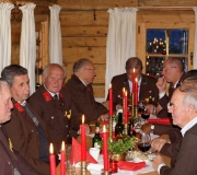 Weihnachtsfeier Stöttlalm 2014