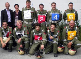 Auszeichnungen in Bronze und Silber - 49. Tiroler Landes-Feuerwehrleistungsbewerb in Ebbs, Foto: FF Mieming