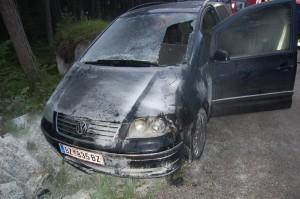 Fahrzeugbrand Barwies