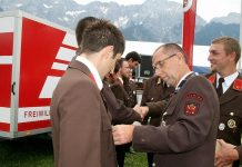 135 Jahre Freiwillige Feuerwehr Mieming - Jubiläumsfeier und Auszeichnungen, Foto: Knut Kuckel