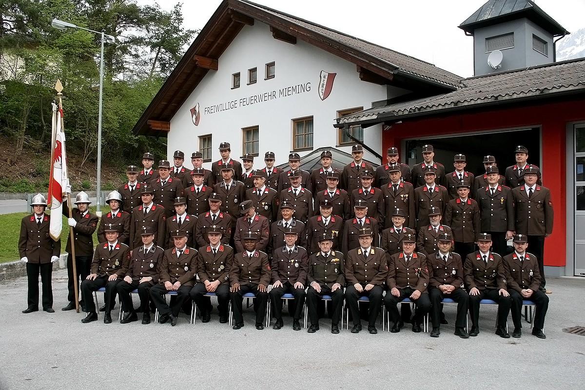 Freiwillige Feuerwehr, Mannschaft, 2012, Foto: Knut Kuckel