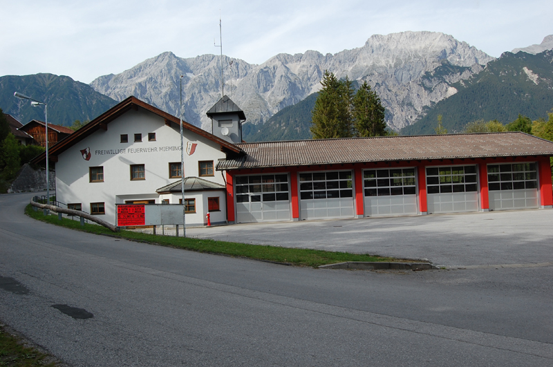 Gerätehalle der Freiwilligen Feuerwehr Mieming
