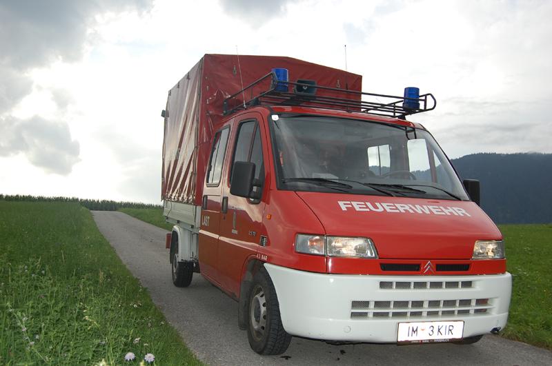 LAST- Lastfahrzeug, Freiwillige Feuerwehr Mieming