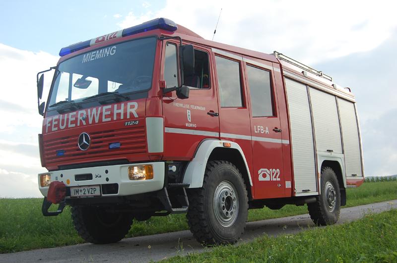 LFB-A Löschfahrzeugberge, Freiwillige Feuerwehr Mieming