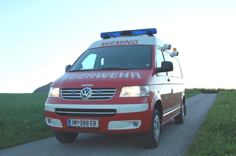 MTFA-Mannschaftstransportfahrzeug, Freiwillige Feuerwehr Mieming