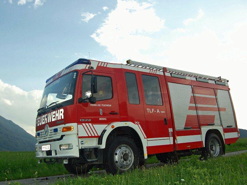 TLF-A 3000 Tanklöschfahrzeug, Freiwillige Feuerwehr Mieming