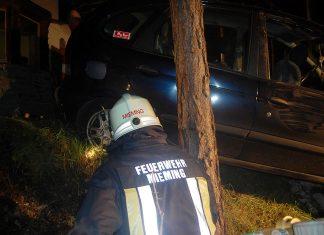 Hilfeleistung Fahrzeugbergung - Zum zweiten Mal an einem Tag, Foto: Freiwillige Feuerwehr Mieming