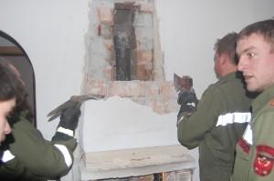 Gebäudebrand Wohngebäude am 27.01.2013, Foto: Freiwillige Feuerwehr Mieming