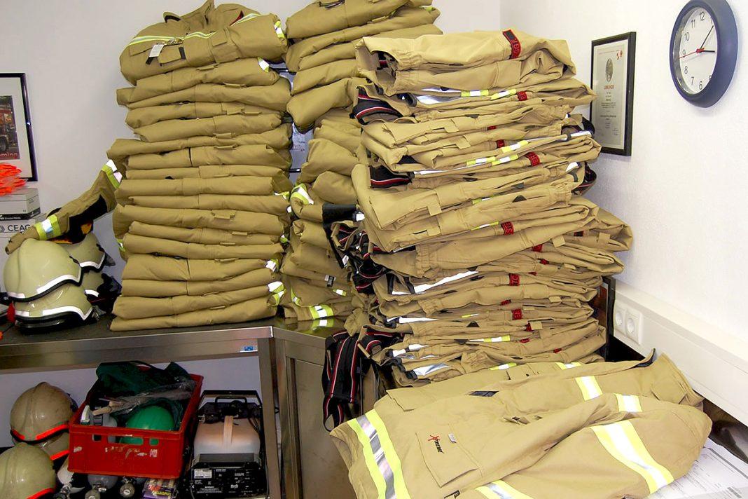 Feuerwehr Mieming - Neue Einsatz- und Schutzbekleidung, Foto: FF Mieming