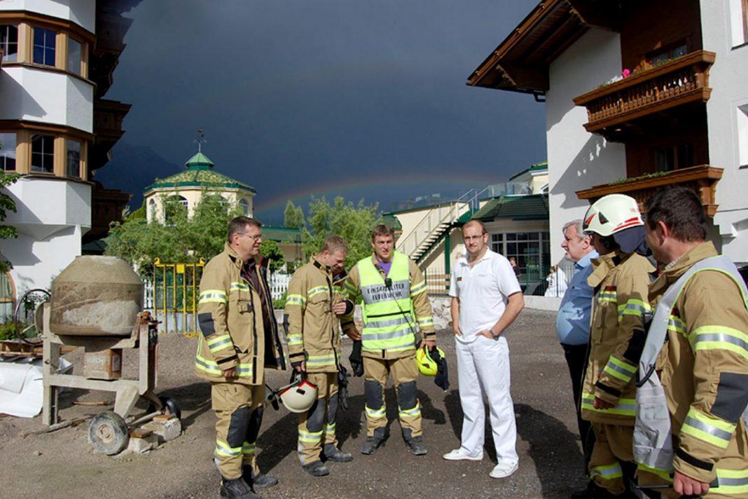Brandalarm Hotel Schwarz -