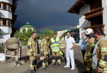 """Brandalarm Hotel Schwarz - """"Gegen 17 Uhr heulten die Sirenen"""", Foto: Freiwillige Feuerwehr Mieming"""