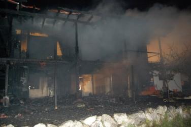 Gebäudebrand Obsteig
