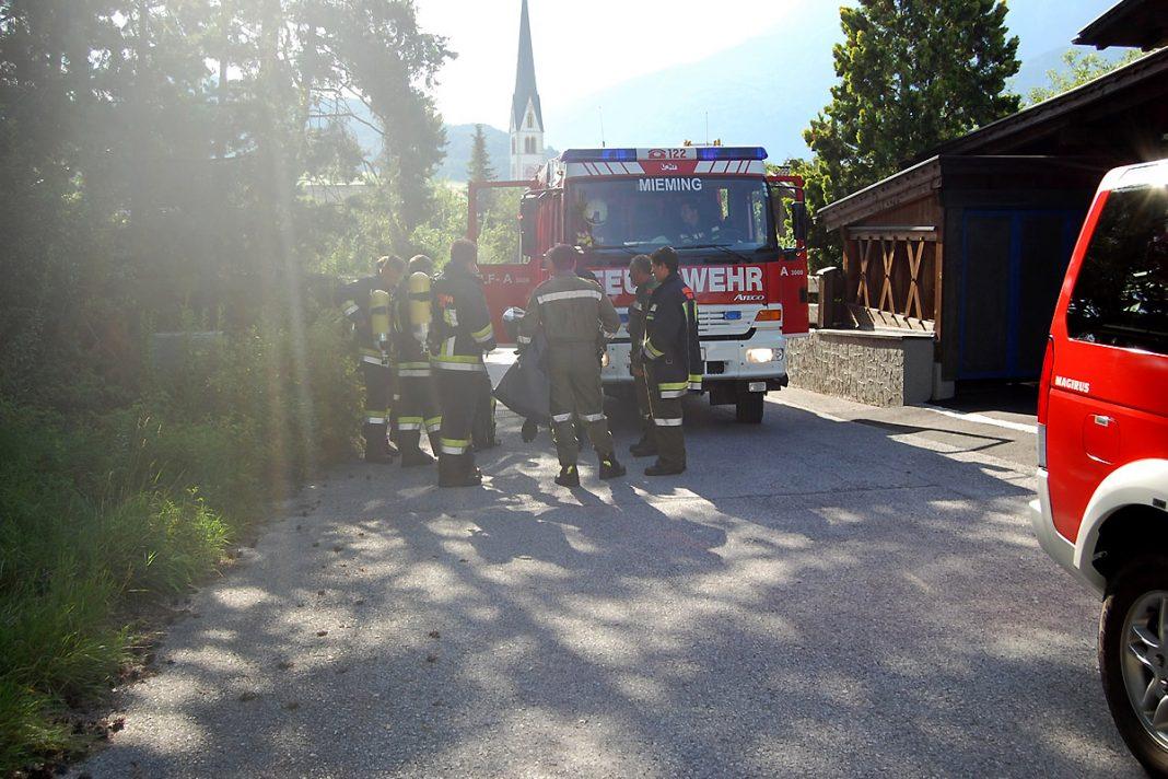 Vermehrtes Einsatzaufkommen - Alarmierungen über Leitstelle Tirol, Foto: Freiwillige Feuerwehr Mieming