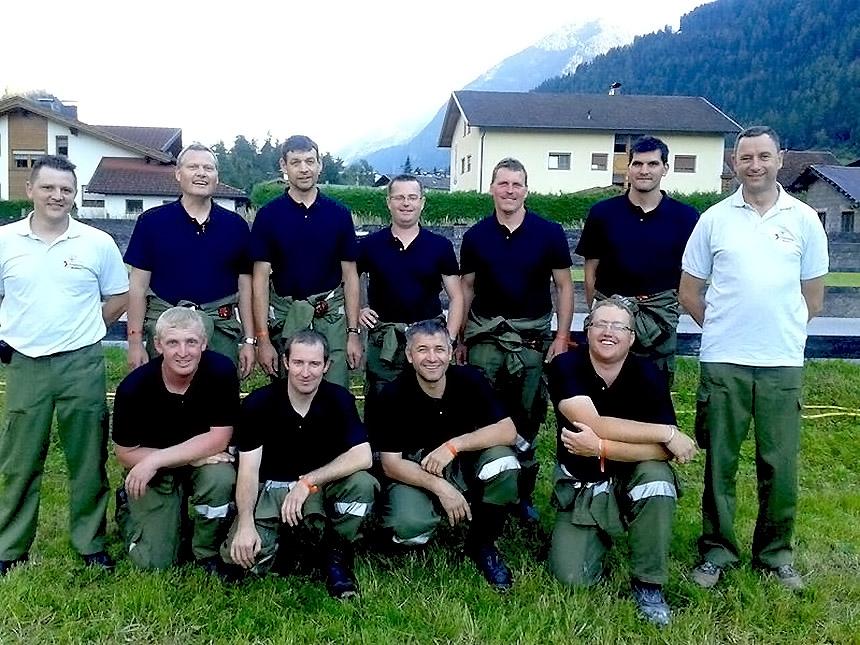 Bezirksnasswettbewerb 2014 in Tumpen -