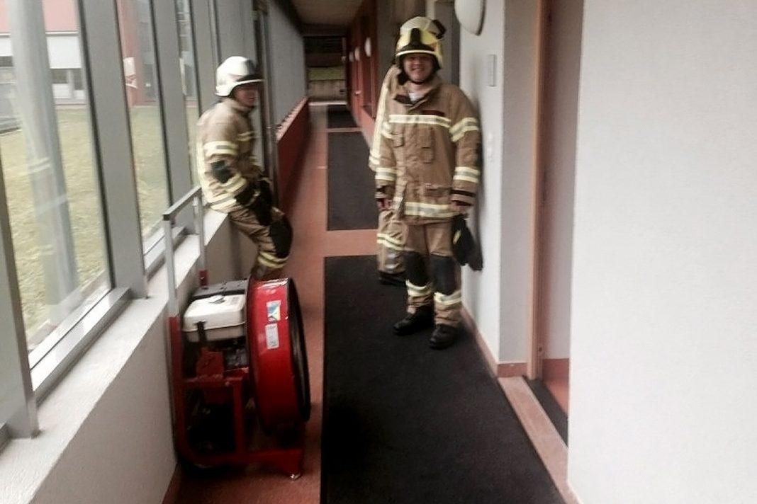 Brandalarm im Sozialzentrum Mieming -