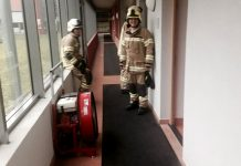 "Brandalarm im Sozialzentrum Mieming - ""Verbrannte Semmel im Toaster"", Foto: FF Mieming"