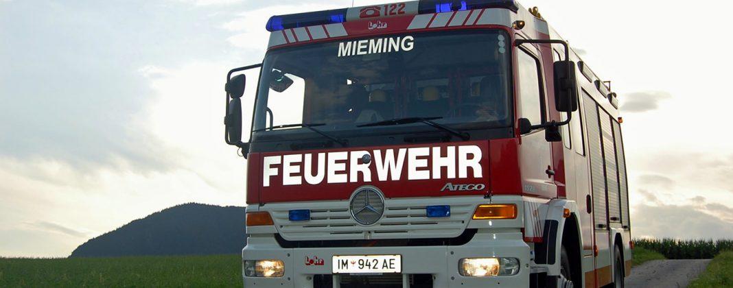Freiwillige Feuerwehr Mieming, Foto: FF Mieming