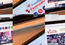 Feuerwehr-Homepage überarbeitet - Kompaktes Format