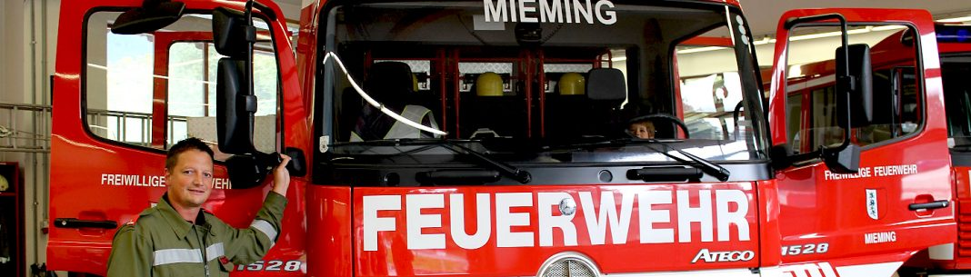 Feuerwehrauto, Lange Nacht der Freiwilligen Feuerwehr Mieming