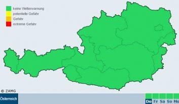 Wetter-Warnungen Tirol