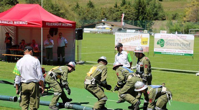 Feuerwehr Mieming - Abschnittsleistungsbewerb, Foto: Mieming o